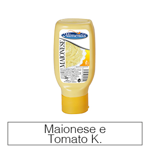 Maionese e Tomato Ketchup